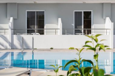 Standard Twin / Double Room, Pool Side, pool sight from room