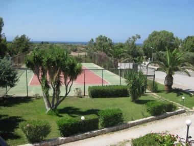 Tennis court Gardens
